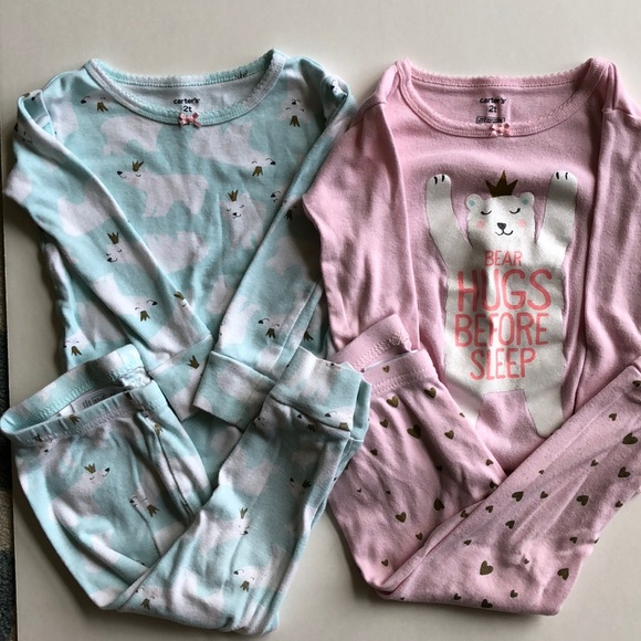 a34f82147 Carters Girls Pajamas Size 2t